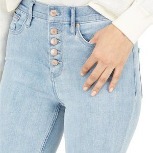 NWT!! Glacier high Rise button fly jeans